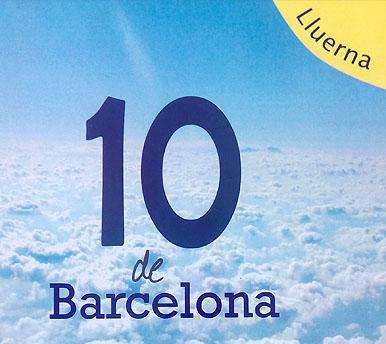 10 de Barcelona. Poesia.