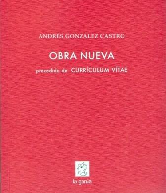 Obra nueva precedido de Currículum vítae.