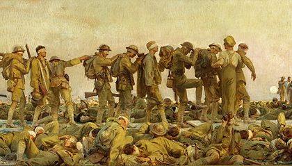 """Sergent John Singer: """"Gasejat"""" (1918)"""